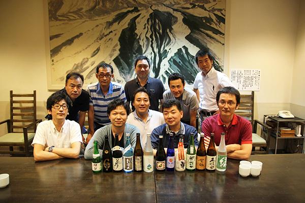 2014年9月 酒らぼメンバー酒店イチオシのお酒試飲会