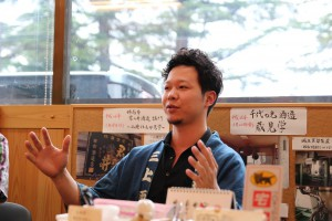 今回ラベル制作を担当した三上酒店・三上雄一郎